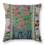 Death Tree - Framed Throw Pillow