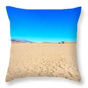 Death Valley Discovery Throw Pillow