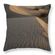 Death Valley Mesquite Flat Sand Dunes Img 0181 Throw Pillow