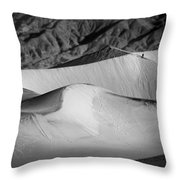 Death Valley National Park Stovepipe Wells Dunes 19 Throw Pillow