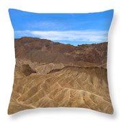 Death Valley Np Zabransky Point Ca 2 Throw Pillow