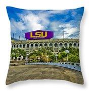 Death Valley Throw Pillow by Scott Pellegrin