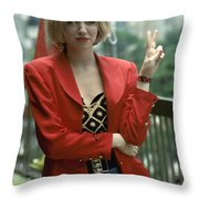 Debbie Gibson Throw Pillow