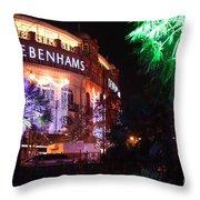 Debenhams Bournemouth At Christmas Throw Pillow