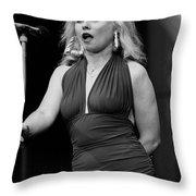 Deborah Harry Throw Pillow
