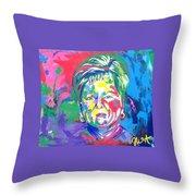 Deborah Lybrand Throw Pillow