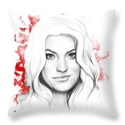 Debra Morgan - Dexter Throw Pillow