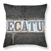 Decatur Throw Pillow
