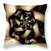 Decay Throw Pillow by Kevin Trow