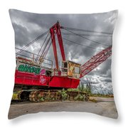 Decayed Glory - 1 Throw Pillow