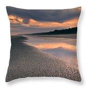Island Evening Throw Pillow