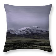 December In Orovada 1 Throw Pillow