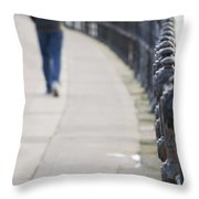 December Wandering Throw Pillow
