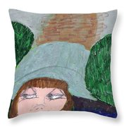 I Have A Secret To Tell  Throw Pillow