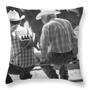 Decisions On The Fence Throw Pillow