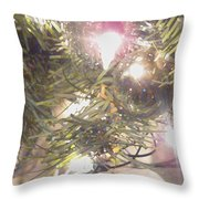 Deck The Halls 2011 Throw Pillow by Feile Case
