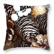 Deck The Halls Throw Pillow
