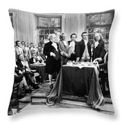 Declaration Of Independece Throw Pillow