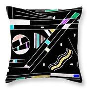 Deco 1 Version 2 Throw Pillow