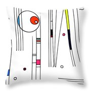 Deco 3 Throw Pillow