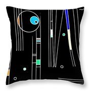 Deco 3 Version 2 Throw Pillow