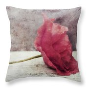 Decor Poppy Horizontal Throw Pillow by Priska Wettstein