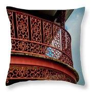 Decorative Balcony Throw Pillow
