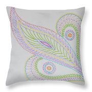 Decorative Leaf Throw Pillow