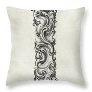 Decorative Letter Type I 1650 Throw Pillow
