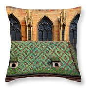 Decorative Roof Throw Pillow