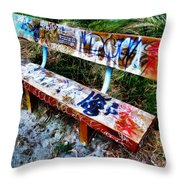 Dedicated To Our Love  Throw Pillow