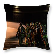 Dedication Throw Pillow