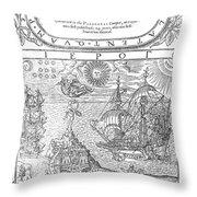 Dee Navigation, 1577 Throw Pillow