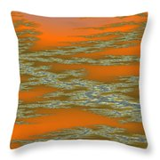 Deep Color Field 3 Throw Pillow