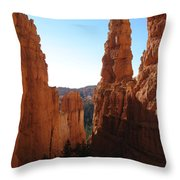 Deep Down - Bryce Canyon Throw Pillow
