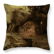 Deep Down There's Fire Throw Pillow