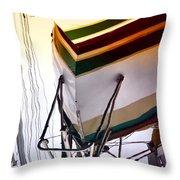 Deep Hull Throw Pillow