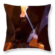 Deep In Antelope Throw Pillow