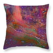 Deep In The Rain Forest Throw Pillow