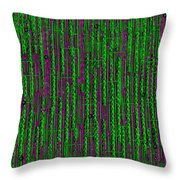 Deep Into The Rainforest Throw Pillow by Pepita Selles
