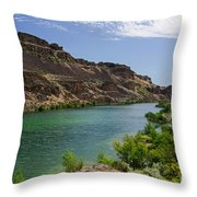 Deep Lake - Washington State Throw Pillow