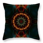 Deep Magic Throw Pillow by Hanza Turgul