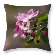 Deep Purple - Featured 3 Throw Pillow