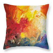 Deep Space Canvas One Throw Pillow