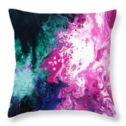 Deep Space Canvas Three Throw Pillow
