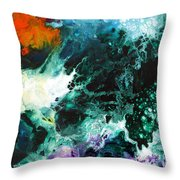 Deep Space Canvas Two Throw Pillow