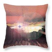 Deep Space Fantasy Throw Pillow