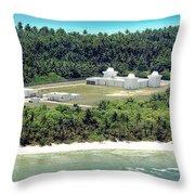 Deep Space Surveillance Facility Throw Pillow