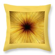 Deepness Throw Pillow