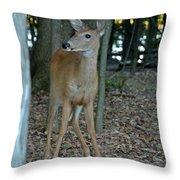 Deer 3 Throw Pillow